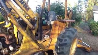 1981 Ford 555 Backhoe Transmission Issues Part 1