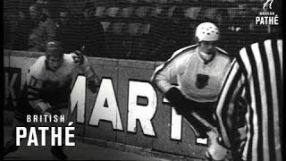 Germany V Sweden Ice Hockey (1969)