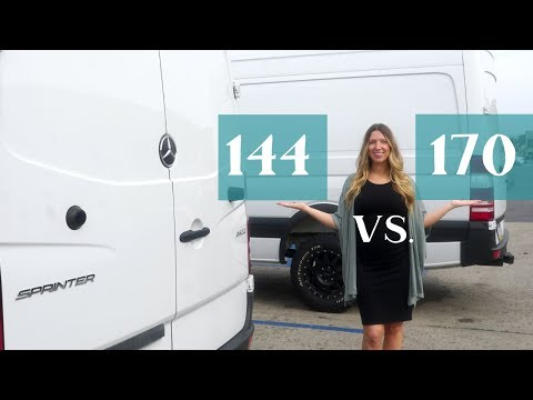 Sprinter 144 Vs 170 | BEST VAN FOR VAN LIFE