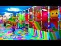 Main Mandi Bola Perosotan & Main Trampolin Di Taman Bermain Anak Mainan Anak Kids Zone Playground