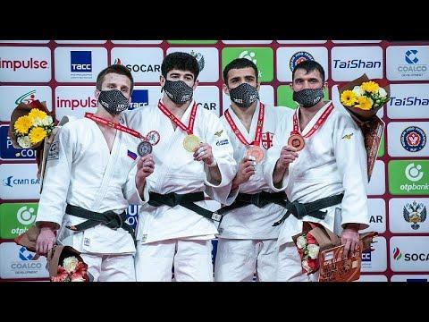شاهد: 5 ميداليات لروسيا في اليوم الثاني من بطولة غراند سلا م للجودو في كازان…  - 12:58-2021 / 5 / 7