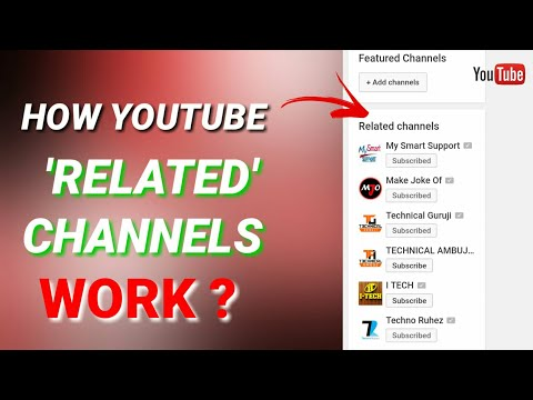 How Youtube 'Related Channels' Feature work ?