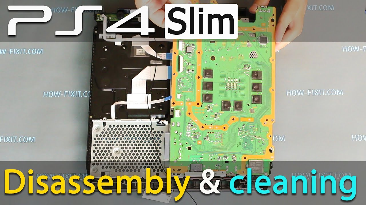 PS4 Slim disassembly