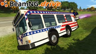 BeamNG.drive - MINI ROCKET BUS