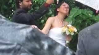 JESSICA AND DANIEL: A WONDERFUL WEDDING IN THE RAIN!