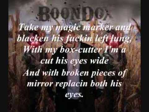 Boondox- Death of a Hater