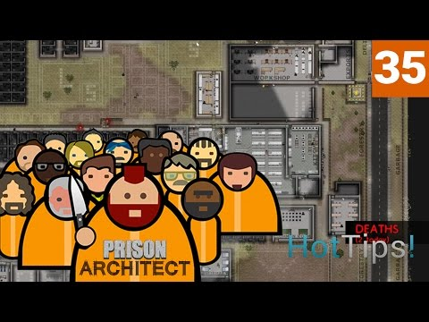 Prison Architect 2.0 - Ep 35 - DEBT FREE! (but not Scott free) - Let's Play