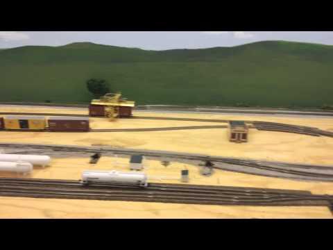 N Scale Kansas & Missouri Switching Layout