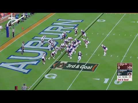 Auburn Offense vs Mississippi State Defense 2017