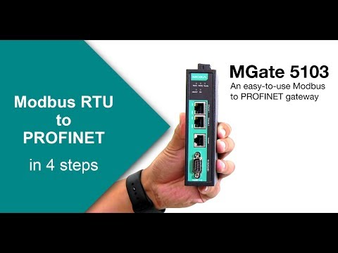 Convert Modbus RTU to PROFINET in 4 Steps