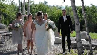 Maine Mountain top Wedding