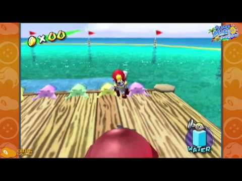 Super Mario Sunshine- Red Coins on the Water Rage