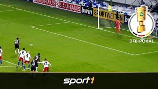 VfB-Drehschuss schockt HSV: Hamburg - Stuttgart 1:2 n.V. | Highlights | DFB-Pokal 2019 | SPORT1