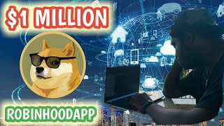 1 Million Dogecoins & RobinHood Checking Account Early Access Invite