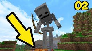 МОД НА БЛОК в который влезает целый дом и ТРОЛЛИНГ в НЕРЕАЛЬНОЕ ПРОХОЖДЕНИЕ Minecraft Серия 002