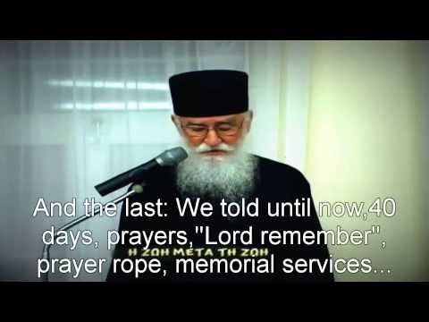 Life after death-Elder Nikon of Nea Skiti