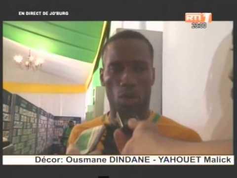 Football/Côte d'ivoire- Tunisie: Didier Drogba explique sa non titularisation par Lamouchi