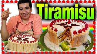TIRAMISU pastel receta como hace un pastel Tiramisu receta chuy