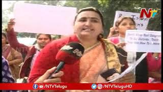 Delhi Telugu Women Holds Peace March Over Disha Incident