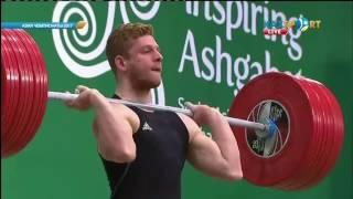 Альберт Линдер (Казахстан) - Чемпион Азии-2017 по тяжелой атлетике в в.к. 69 кг