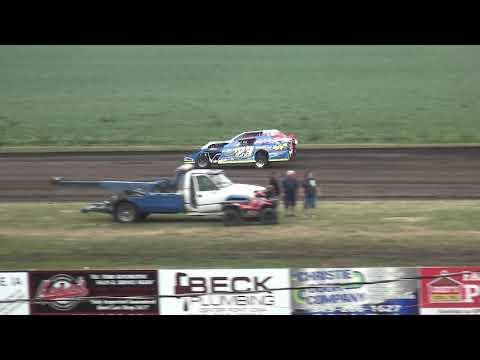 IMCA Sport Mod Heats Benton County Speedway 7/28/19