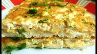 Омлет с Сыром . Рецепты Низко-Углеводной Диеты