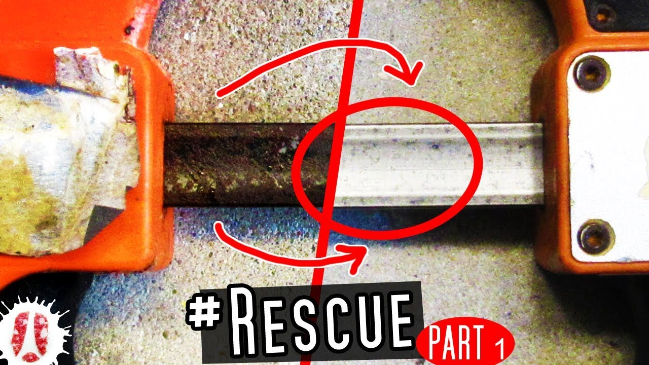 how to restore & repair rusted quick release trigger bar clamps - part 1:  removing rust #diy #tools