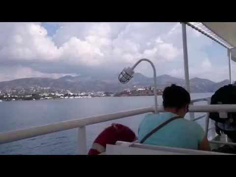 From Agios Nikolaos (Crete) to Spinalonga, by boat