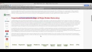 Mejor Broker Forex 2013 Elegir un broker forex
