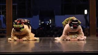 京都・東山花灯路舞妓の奉納舞踊