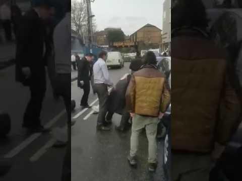 jews attacking black traffic warden doing his job 2