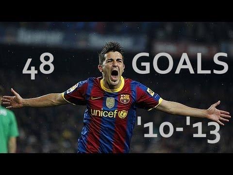 David Villa 48 Goals ●Goodbye Barcelona●|by IsaacFutbol4hd thumbnail