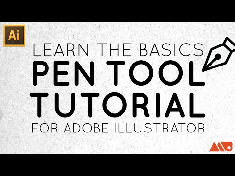 Adobe Illustrator Basics: Pen Tool Tutorial