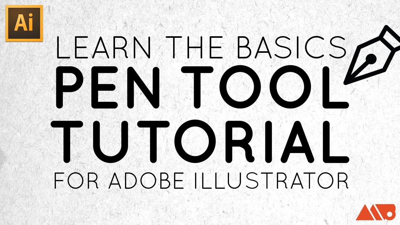 Adobe Illustrator Basics: Pen Tool Tutorial - YouTube