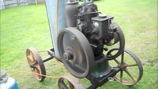 Circa. 1930 Petter 'S' type stationary engine - 14th May 2013.