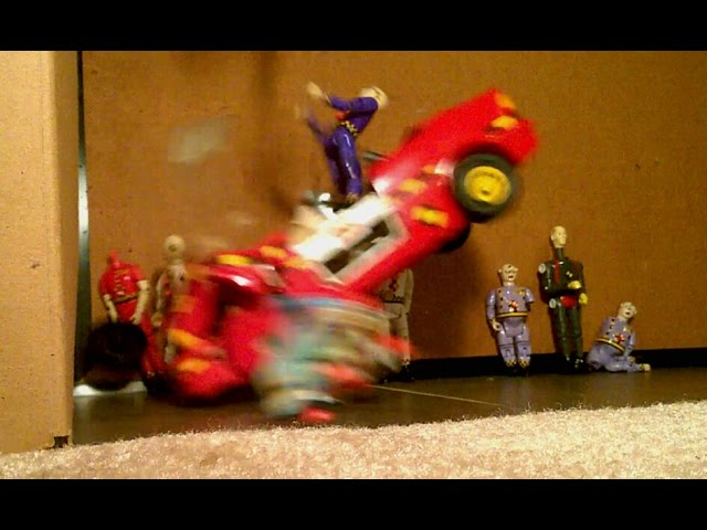 The Incredible Crash Test Dummies Car Slow Motion Car Crashes 1991 Tyco Toy Review