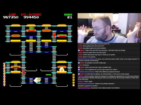 BurgerTime World Record - 7,789,300 - 1 / 3