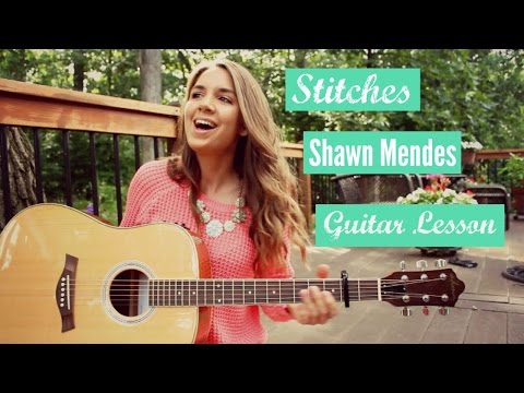 Stitches - Shawn Mendes // Guitar Tutorial