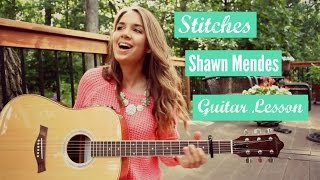 Stitches - Shawn Mendes // Strumming + Picking Pattern Guitar Tutorial