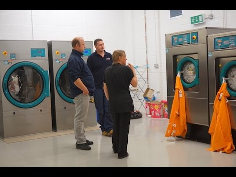 Neat & Sweet Laundry Installed Primer Laundry Equipment Supplied And Fitted By MAG Laundry Equipment