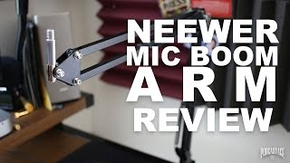 Neewer Microphone Suspension Boom Arm Review
