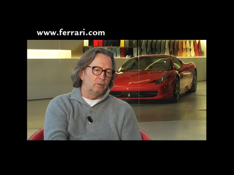 Eric Clapton interview on Ferrari.com