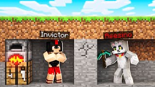 MINECRAFT: INVICTOR VS 1 ASESINO 😱🔪 MINECRAFT SPEEDRUN con ACENIX