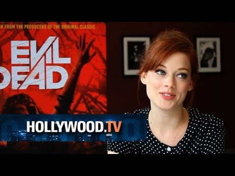 Jane Levy and Fede Alvarez talk Evil Dead!! - Hollywood.TV
