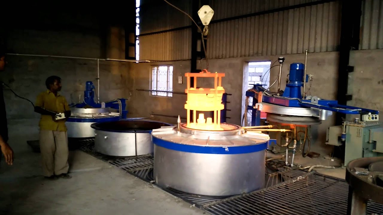 Thermochem    Gas    Carburising Furnace Pit Type  YouTube