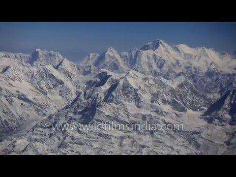 Flying alongside Nepal