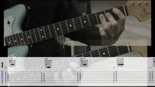 My instrumental cover of wichita lineman with scrolling guitar tabs & chord diagrams. good lesson for anyone wanting to learn the chords this song.