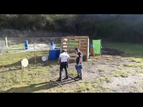 Campeonato de tiro policial en Pontevedra