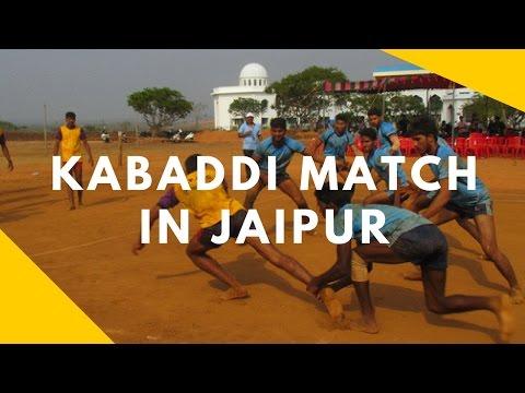 kabaddi match in jaipur(win RIET Jaipur college) sport#9