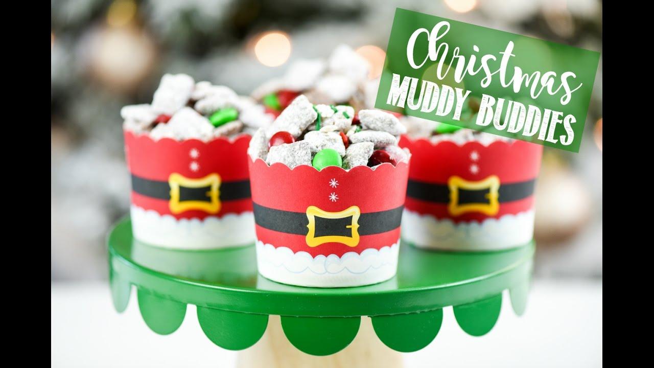 Christmas Treats for Kids: Christmas Muddy Buddies - YouTube